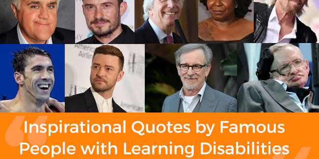 Inspirational Quotes By Famous People With Learning Disabilities Ldrfa